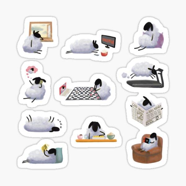 Sheepish Quarantine Life Sticker