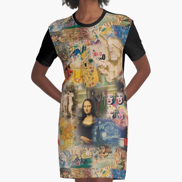 History of art Graphic T-Shirt Dress