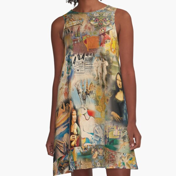 L'histoire de l'art Robe trapèze