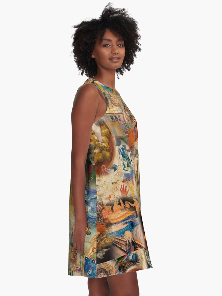 Alternate view of History of art A-Line Dress