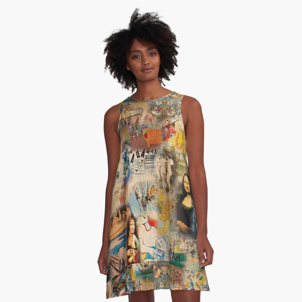 History of art A-Line Dress