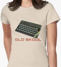Spectrum Old Skool Women's Fitted T-Shirt