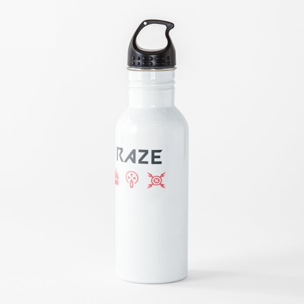 Raze habilidades valorantes Botella de agua