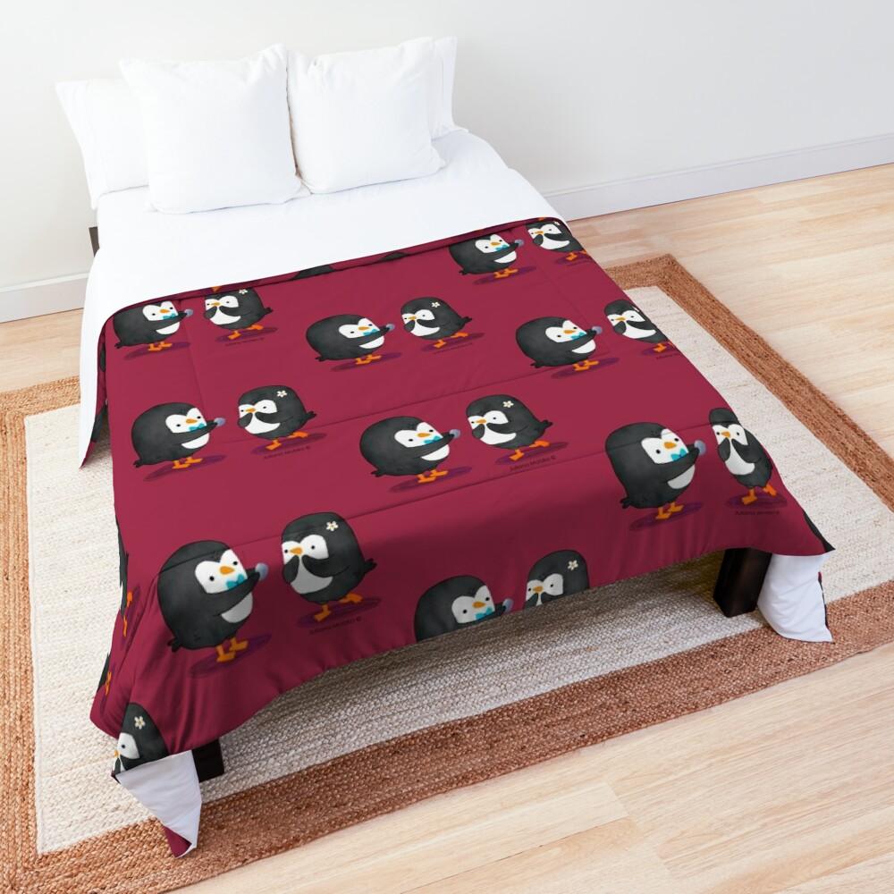 Penguins Valentines Comforter