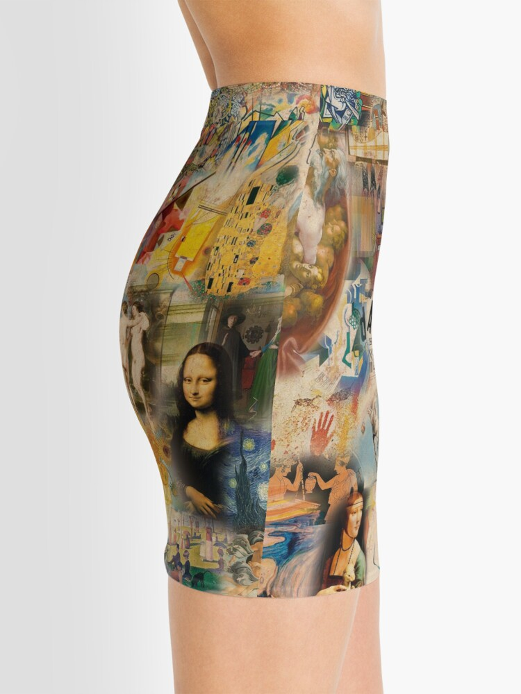 Alternate view of History of art Mini Skirt