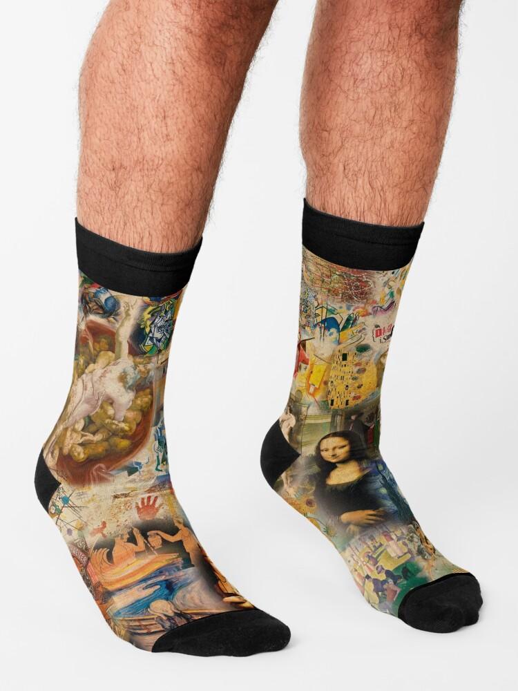 Alternate view of History of art Socks