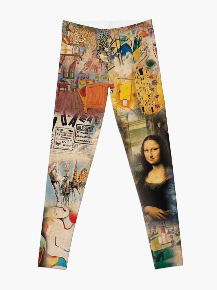 Alternate view of History of art Leggings