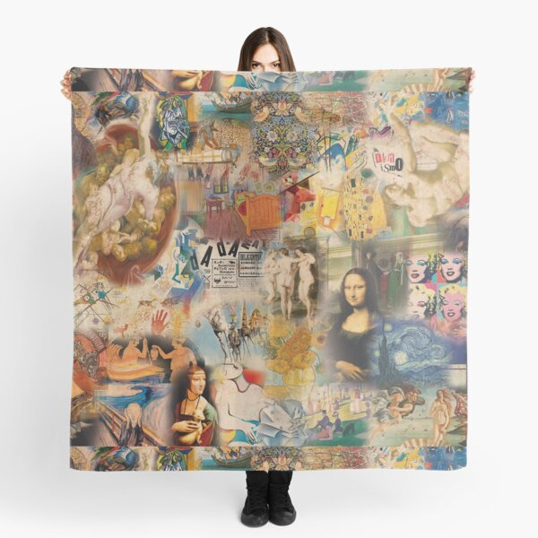History of art Scarf