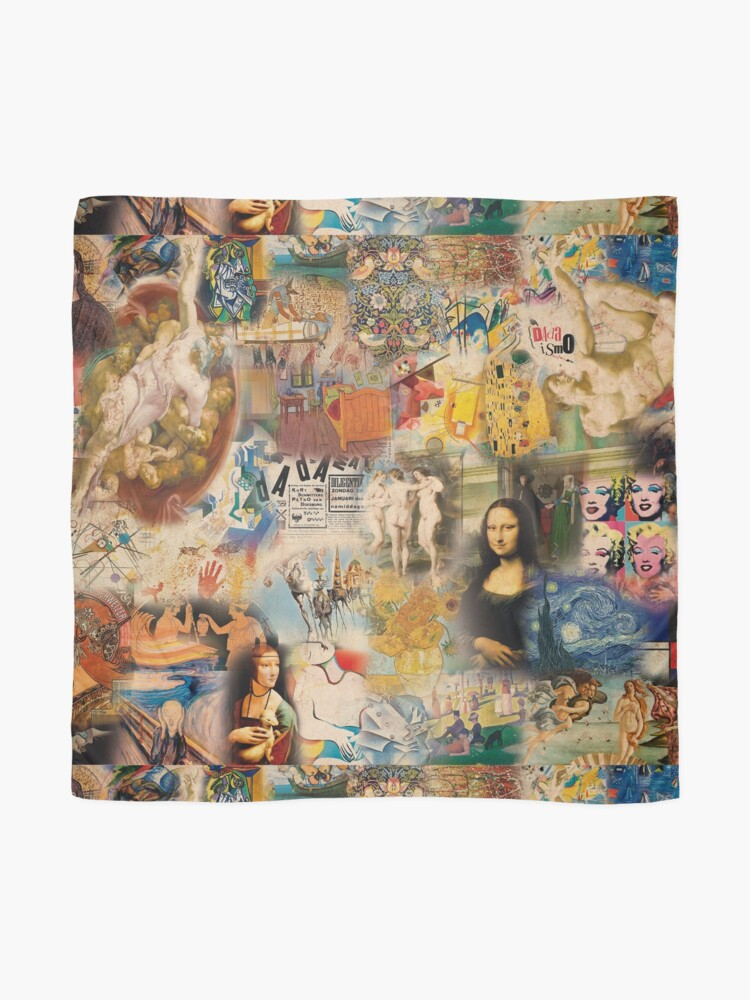 Alternate view of History of art Scarf