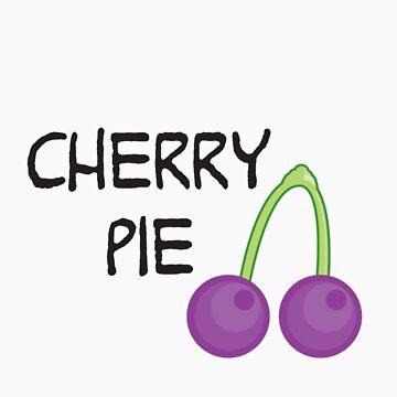 Purple Cherry by jorginaanderson
