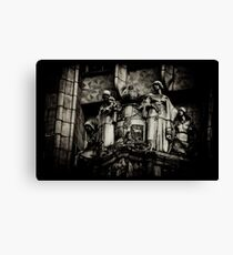 Manchester Unity Statues Canvas Print