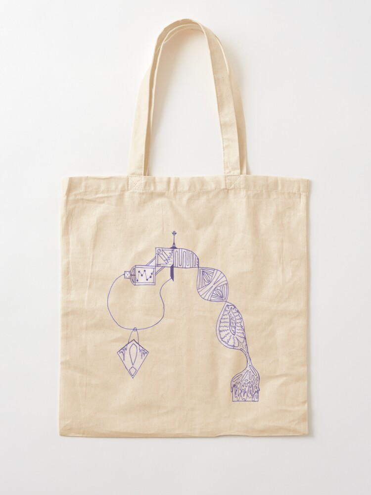 Alternate view of M.I. #31 |☼| D.N.A. Corruption Tote Bag