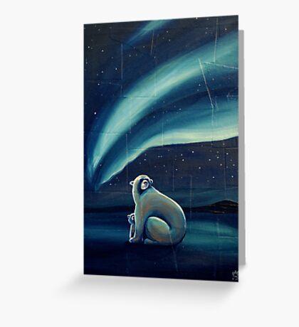 Polar Bears Greeting Card