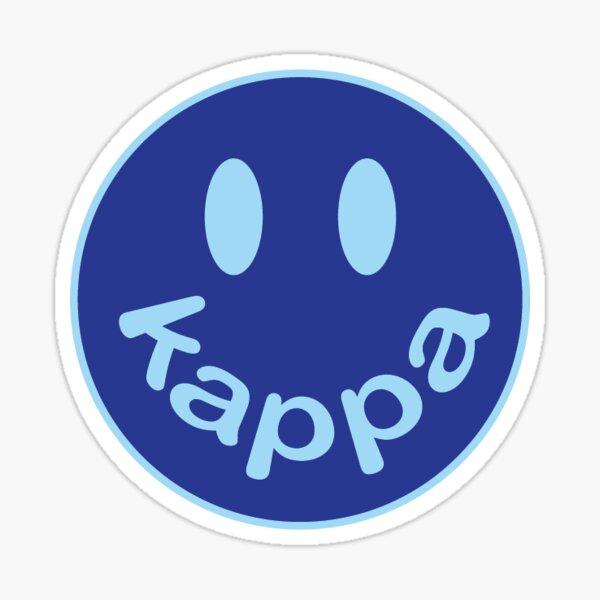 Kappa Smiley Face Sticker Sticker