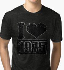 I heart 1975 Vintage T-Shirt Tri-blend T-Shirt