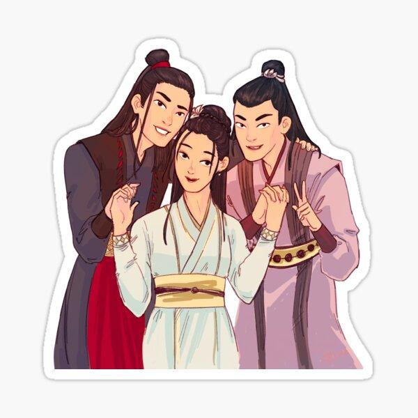 Yunmeng Siblings Sticker