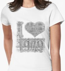 I love 1979 Vintage Women's Fitted T-Shirt