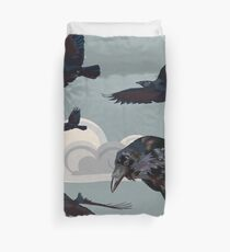 Crow invasion Duvet Cover
