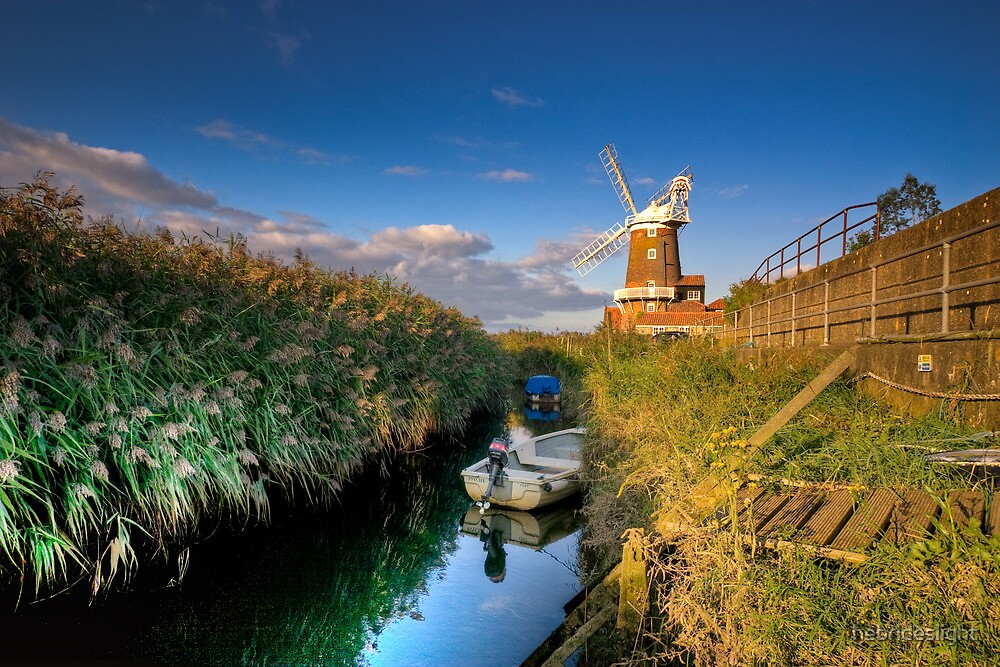 Cley Windmill by hebrideslight