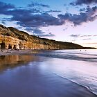 Fisherman's Caves Panorama by KathyT