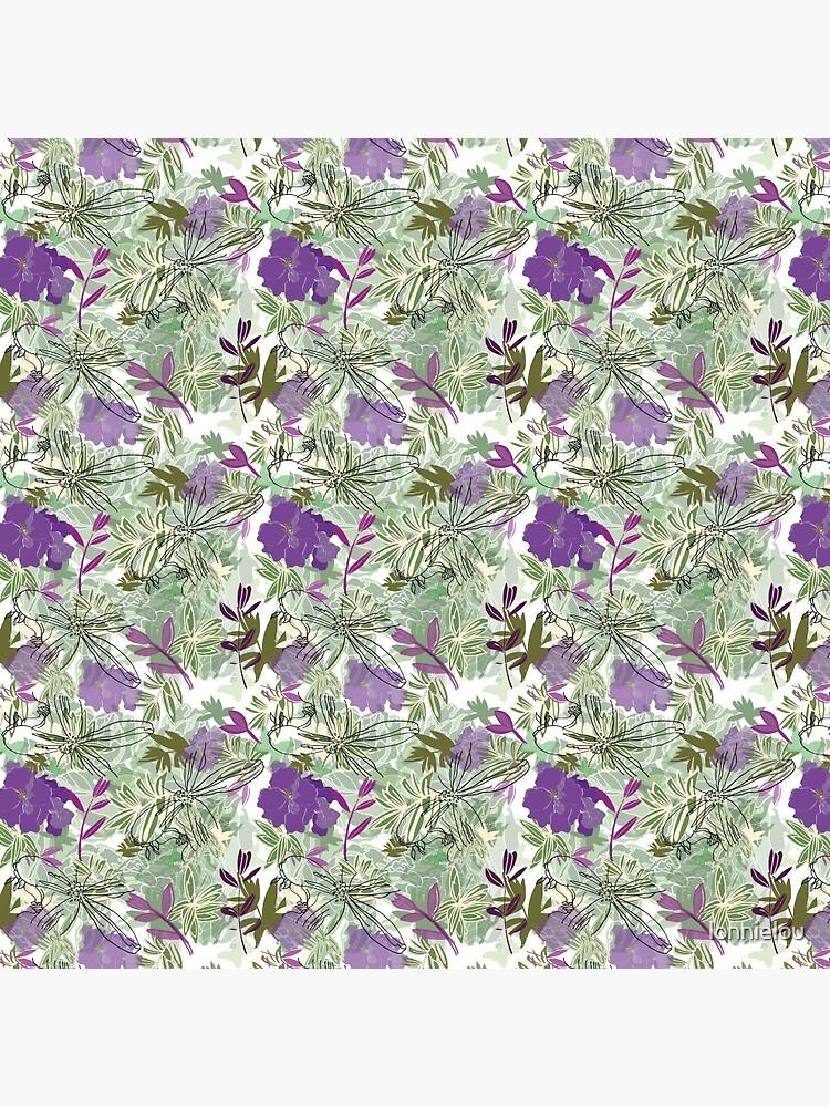 Purple flower by lonnielou