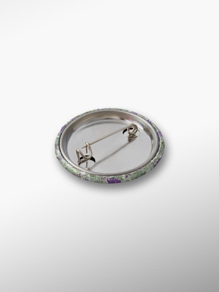 Alternate view of Purple flower Pin