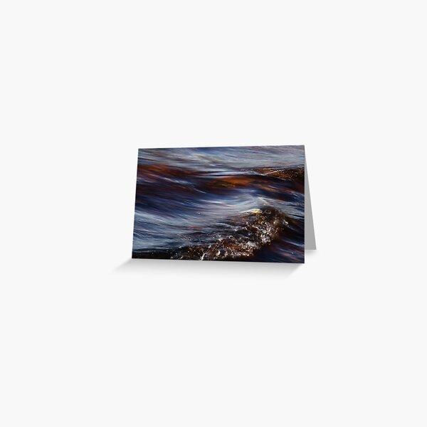 Dark Wave Greeting Card