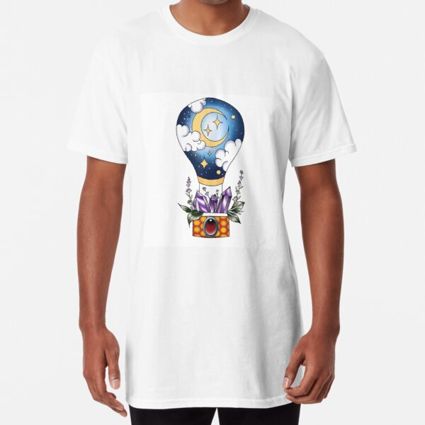 Moon Balloon Long T-Shirt