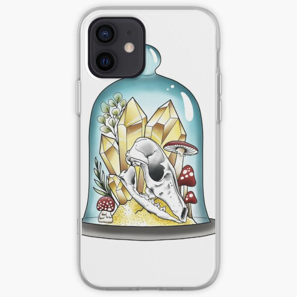 Fox in a bell Jar iPhone Soft Case