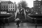 Rainy day at the Ha'Penny bridge by Esther  Moliné