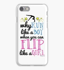 Gymnastics - Flip Like a Girl iPhone Case/Skin