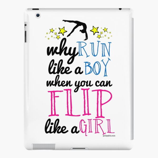 Gymnastics - Flip Like a Girl iPad Snap Case