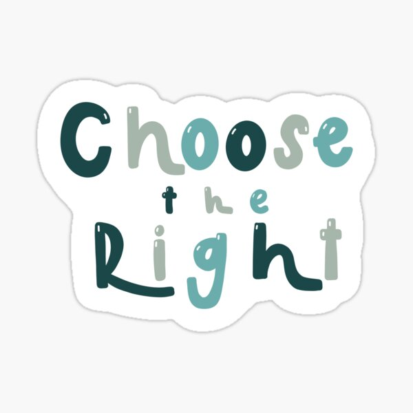 Choose The Right LDS Sticker