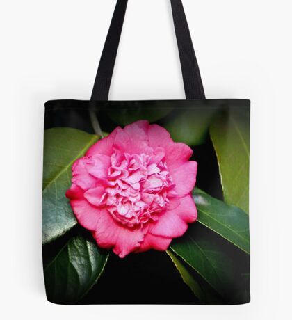 Double Flowered Camillia Tote Bag