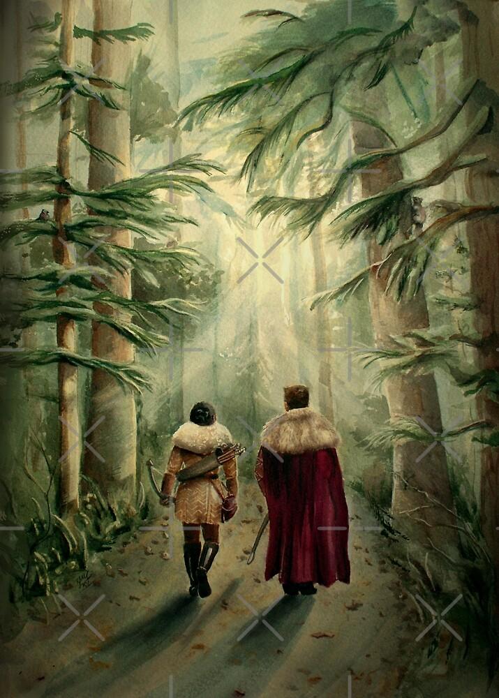 Let's Take Back the Kingdom by Sarah  Mac Illustration