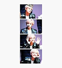BTS/Bangtan Sonyeondan - V Collage Photographic Print