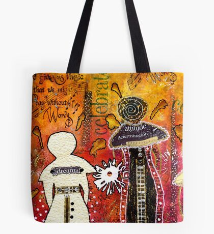 My Angelic Sistah and I are FREE to DREAM Tote Bag
