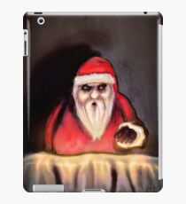 Black Xmas: Santa Claus is Here iPad Case/Skin