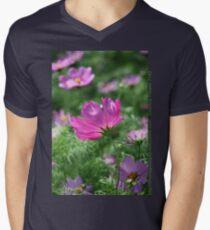Cosmos Flower 7142 T shirt Men's V-Neck T-Shirt