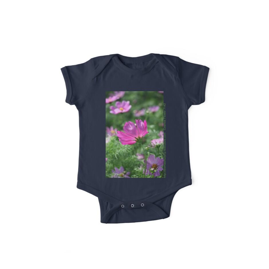 Cosmos Flower 7142 T shirt by Thomas Murphy