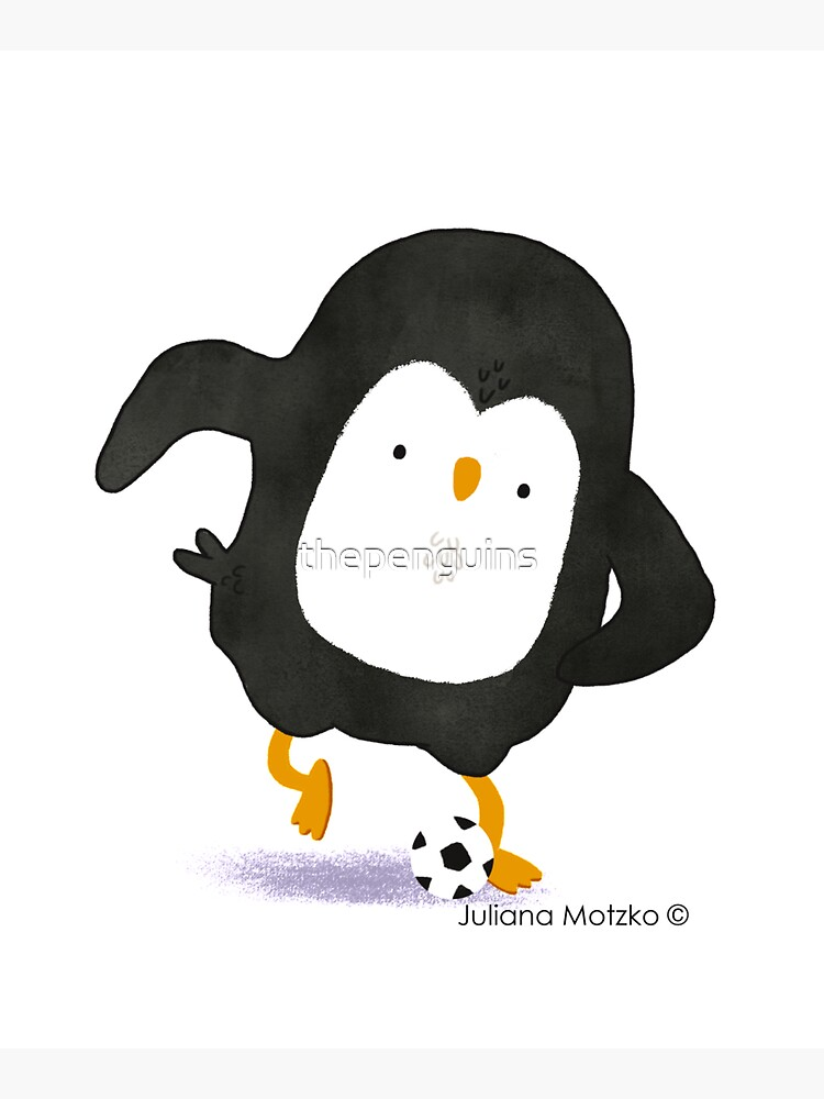 Football Penguin Player by thepenguins
