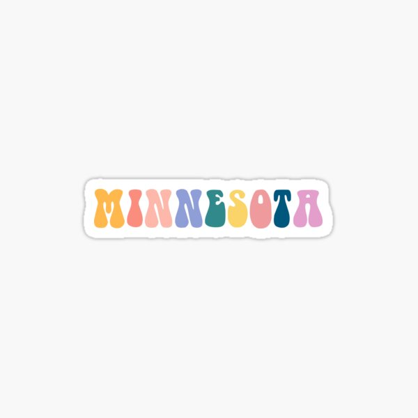 Minnesota Vibes  Sticker