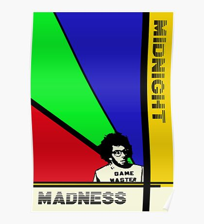 Midnight Madness minimalist movie poster Poster