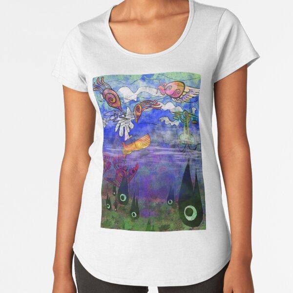 The Wide Open Ocean Premium Scoop T-Shirt