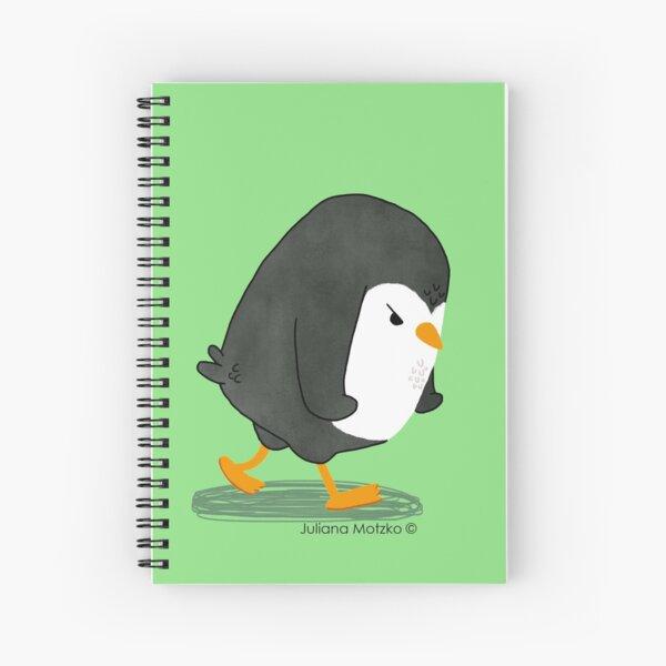 Grumpy Penguin 2 Spiral Notebook