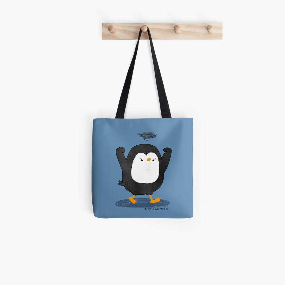 Grumpy Penguin 4 Tote Bag