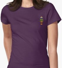 The Obfuscated Cross Women's Fitted T-Shirt