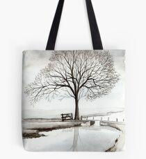 TRANQUIL BEAUTY - AQUAREL  Tote Bag