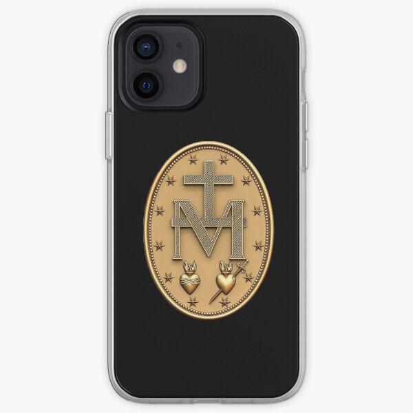 Miraculous Medal T-Shirt Catholic Virgin Mary Sacred Heart iPhone Soft Case