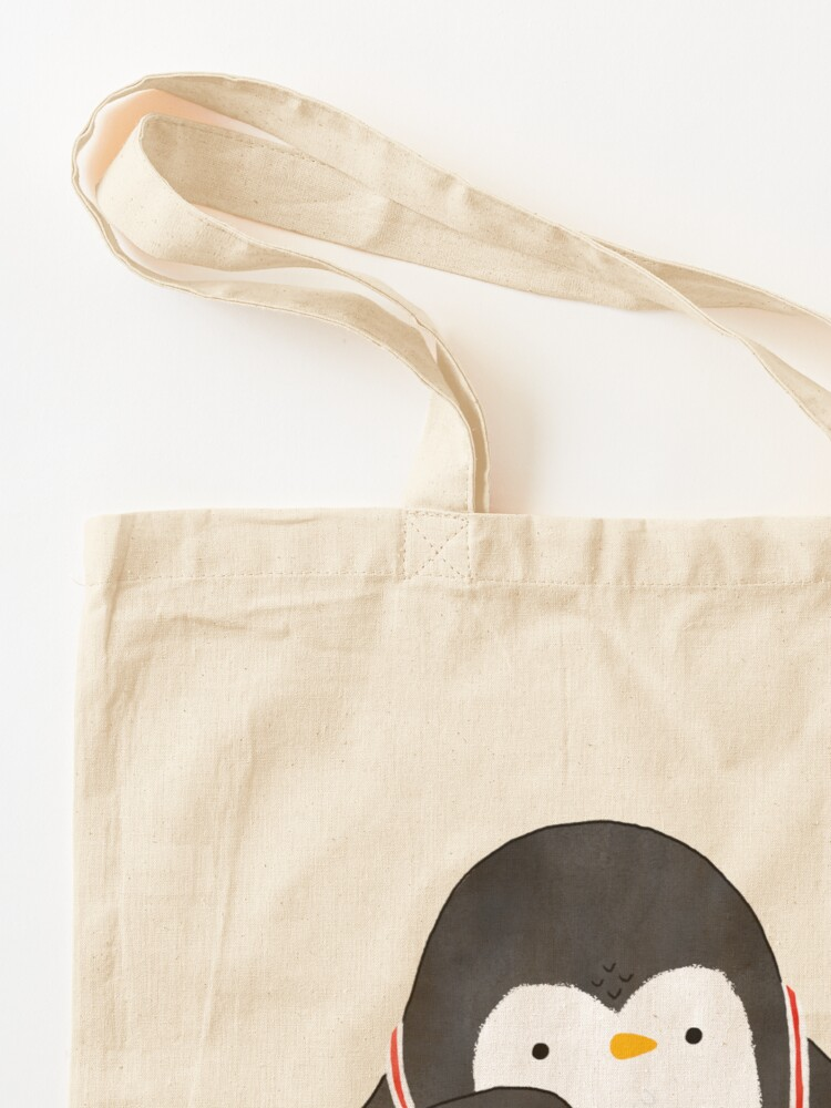 Alternate view of Keyboarder Penguin Tote Bag